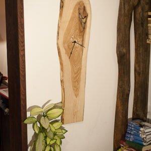 drewniany zegar jesion