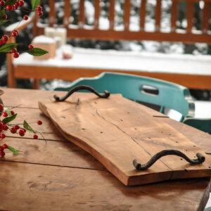 drewniana taca