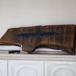 wieszak drewniany rustykalny