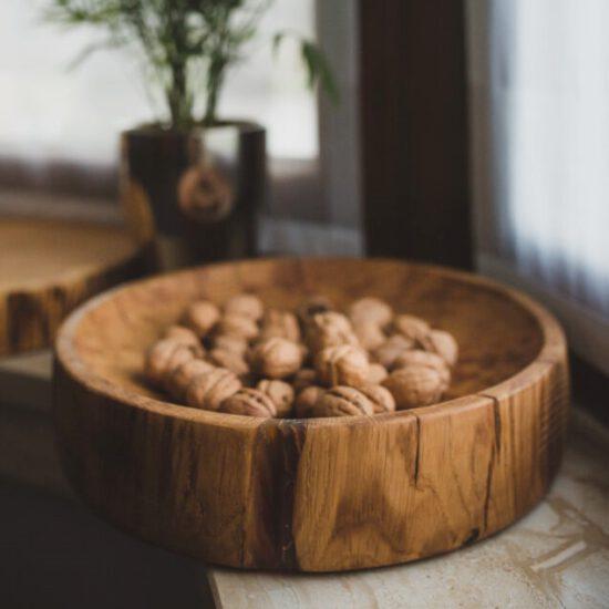 drewniana misa dębowa