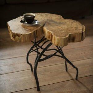 stolik kawowy rustykalny
